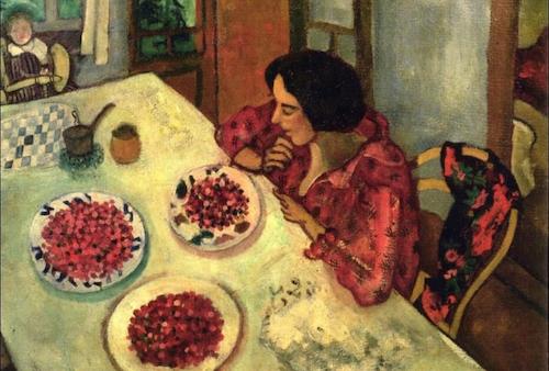 I-frutti-di-bosco-nell'arte-Le-fragole-di-Chagall