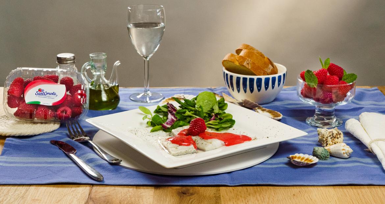 Spigola-lamponi-ricette-frutti-di-bosco-Sant'Orsola