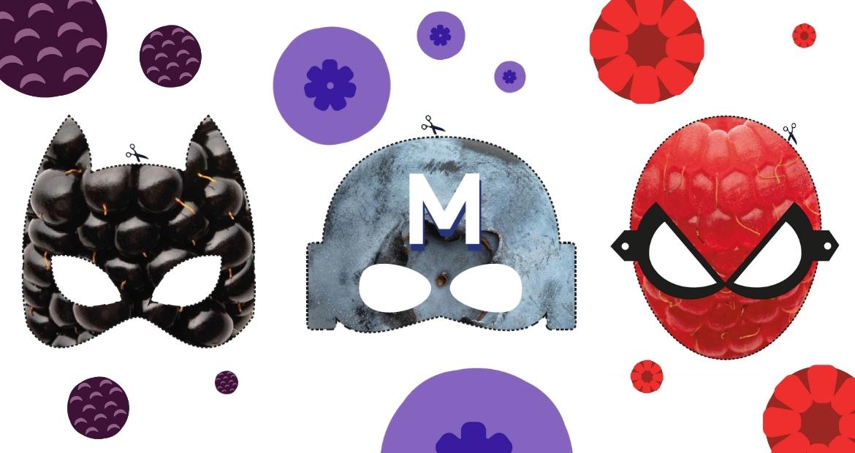Maschere-Carnevale-frutti-di-bosco-maschera-da-ritagliare-per-bambini