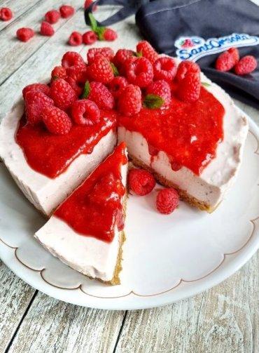 Cheesecake-ai-lamponi-senza-glutine-ricetta-Sant'Orsola